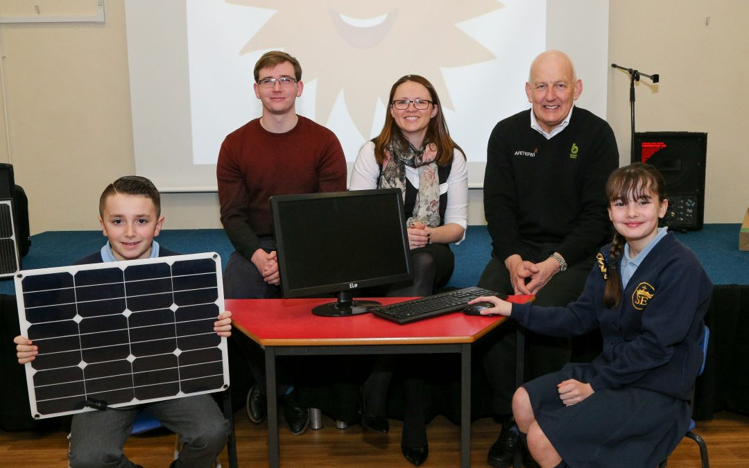 Solar-powered PC unveiled at eco-friendly Merseyside school