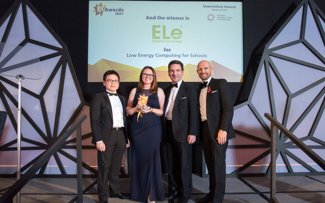 UK TECH FIRM WINS MAJOR INNOVATION AWARD FROM ENERGY INSTITUTE