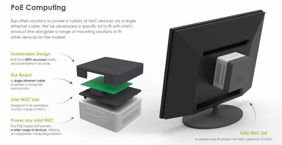 ELe Intel NUC lid overview