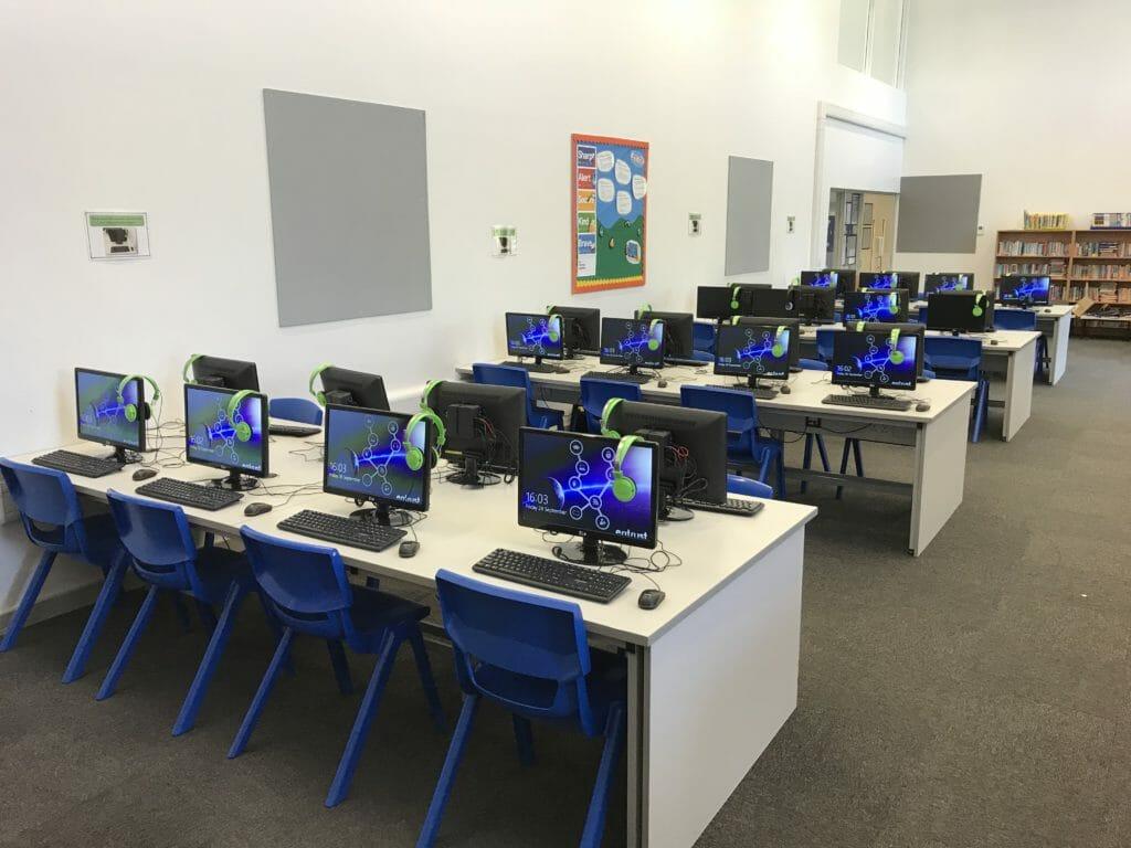 Ryecroft PoE ICT suite