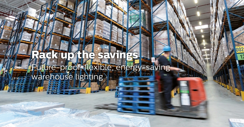 Lighting intelligence and connectivity benefits for the industrial market